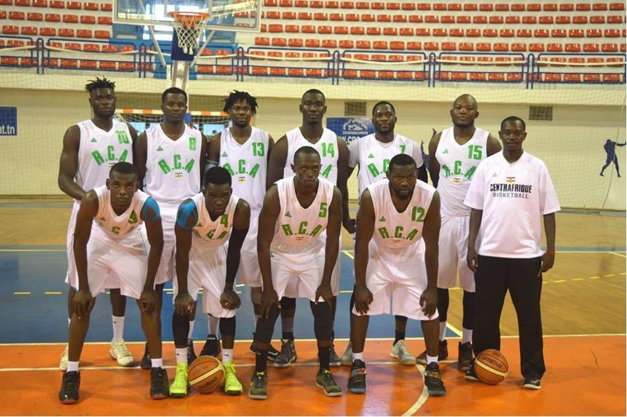 Les fauves de bas- Oubangui de basket-ball en Tunisie pour la dernière phase de la qualification