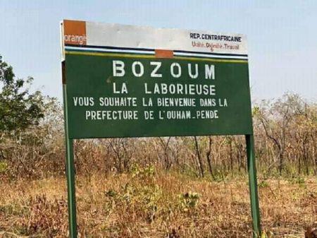 Centrafrique : Les autorités de Bozoum tentent de désamorcer la tension après l'assassinat de deux conducteurs de taxis-motos