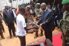 Centrafrique : 2860 ex-combattants des groupes armes désarmés et démobilisés depuis 2018 avec l'appui de la Minusca