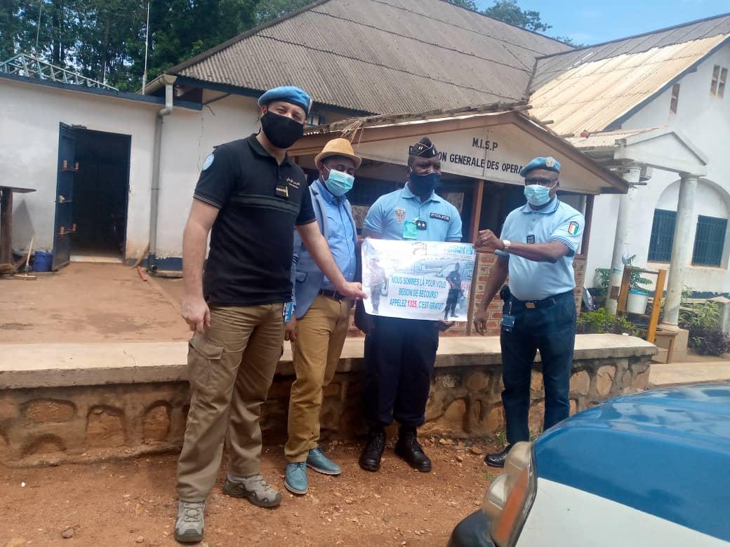Centrafrique : Plus de 5000 appels téléphoniques enregistrés depuis la mise en service de la ligne verte 1325 pour prévenir les violences faites aux femmes candidates pendant les élections
