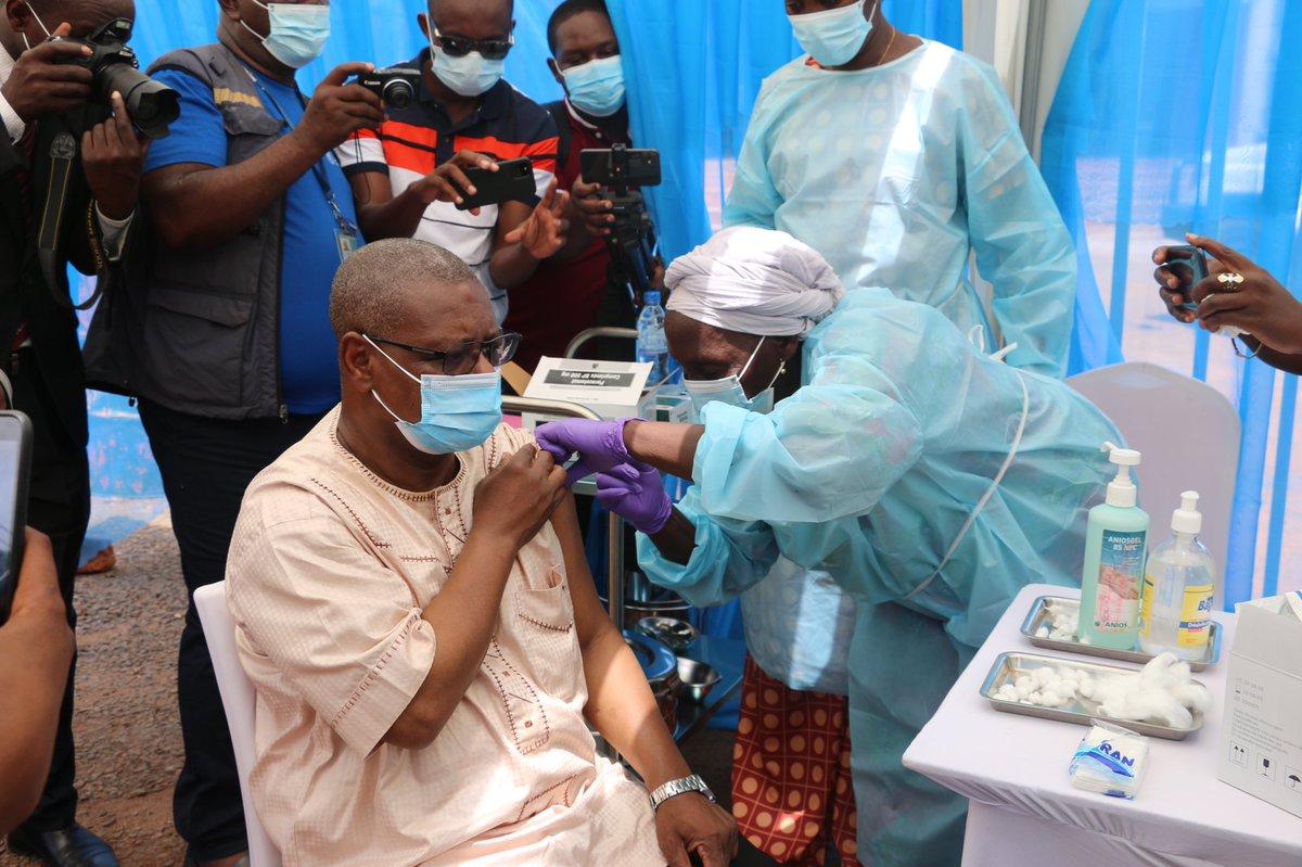 Centrafrique : Plusieurs personnes vaccinées contre Covid_19 présentent des témoignages de satisfaction