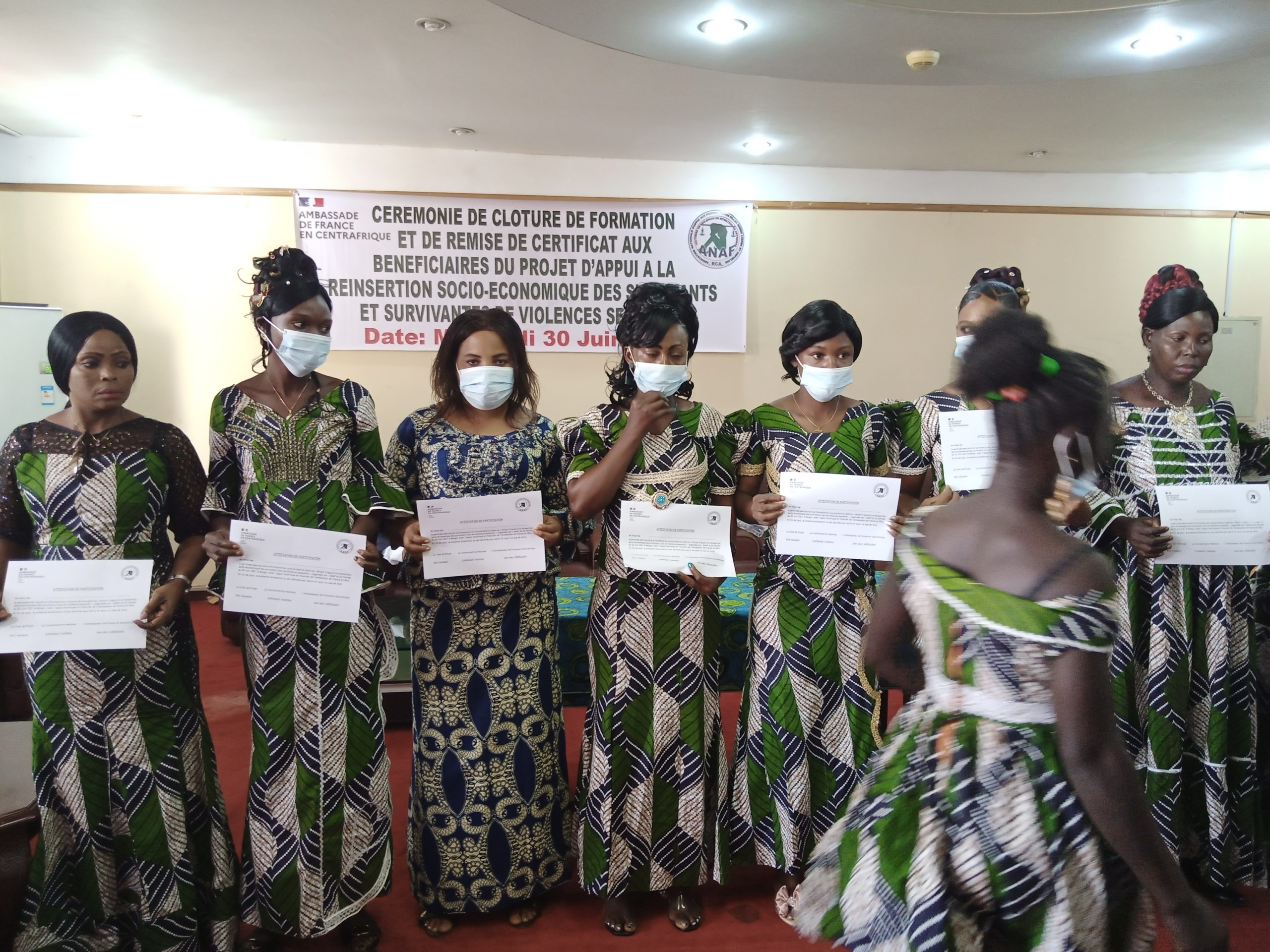 Centrafrique : L'association « ANAF » appuie les survivants de violences sexuelles dans les activités génératrices de revenus