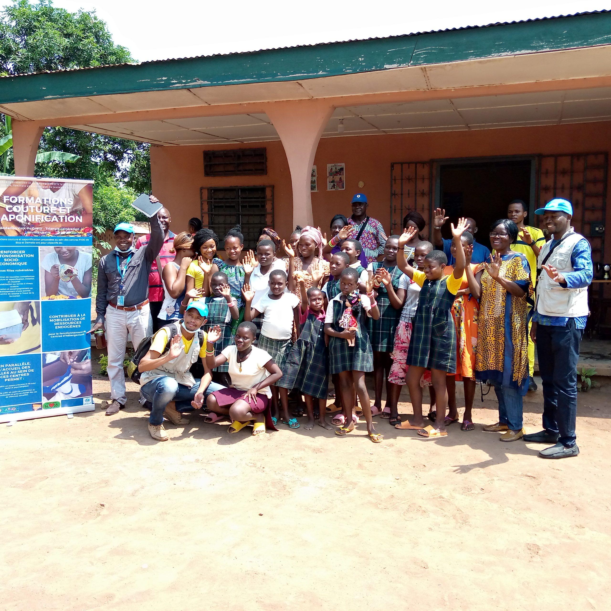 Centrafrique : Le gouvernement et l'UNICEF enquêtent sur les enfants en situation difficile à Bangui et Begoua