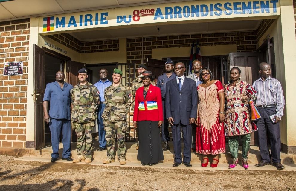 Centrafrique : Le terrain de basketball du 8ème arrondissement réhabilité par le DETAO