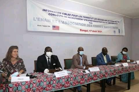 Centrafrique : Le gouvernement veut renforcer l'effectif des magistrats et greffiers