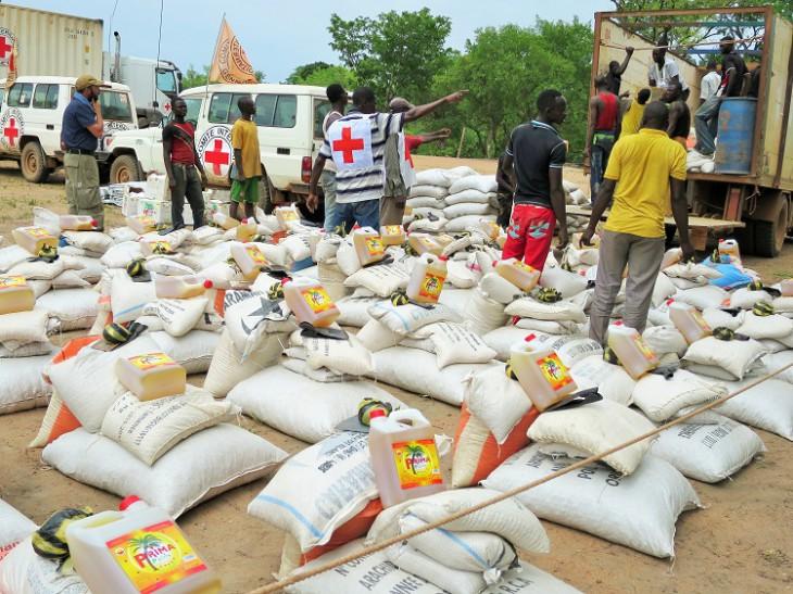 Centrafrique : En RCA le CICR a assisté 49 725 personnes en vivres et rations alimentaires au cours du 1er semestre 2021