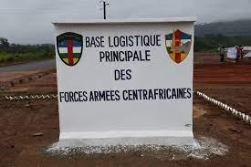 Centrafrique : Touadera inaugure la base logistique principale des FACA à Pk 22, axe Damara