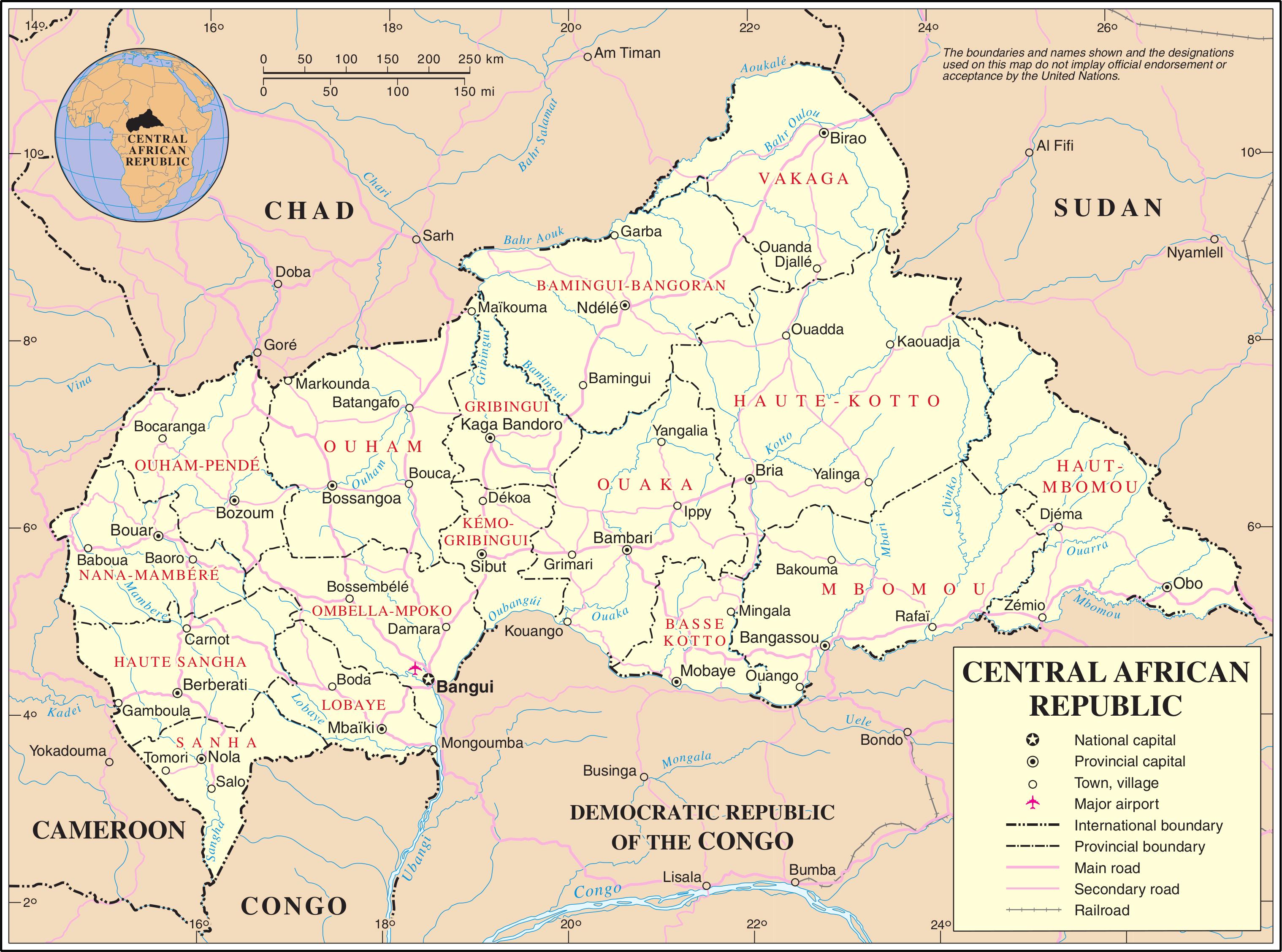 Centrafrique : La ville de Djéma à l'Extrême-est du pays manque d'infrastructures sanitaires