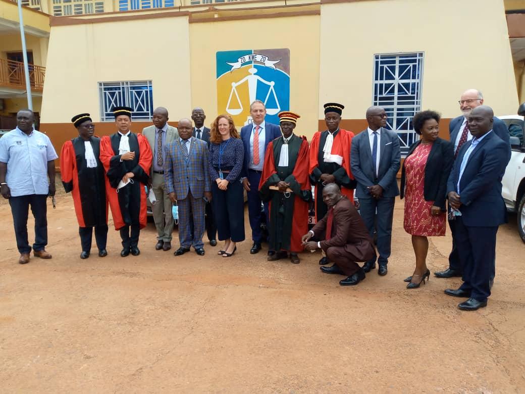 Centrafrique : Deux membres de la Chambre d'instruction et de l'Unité de protection des victimes de la CPS prêtent serment