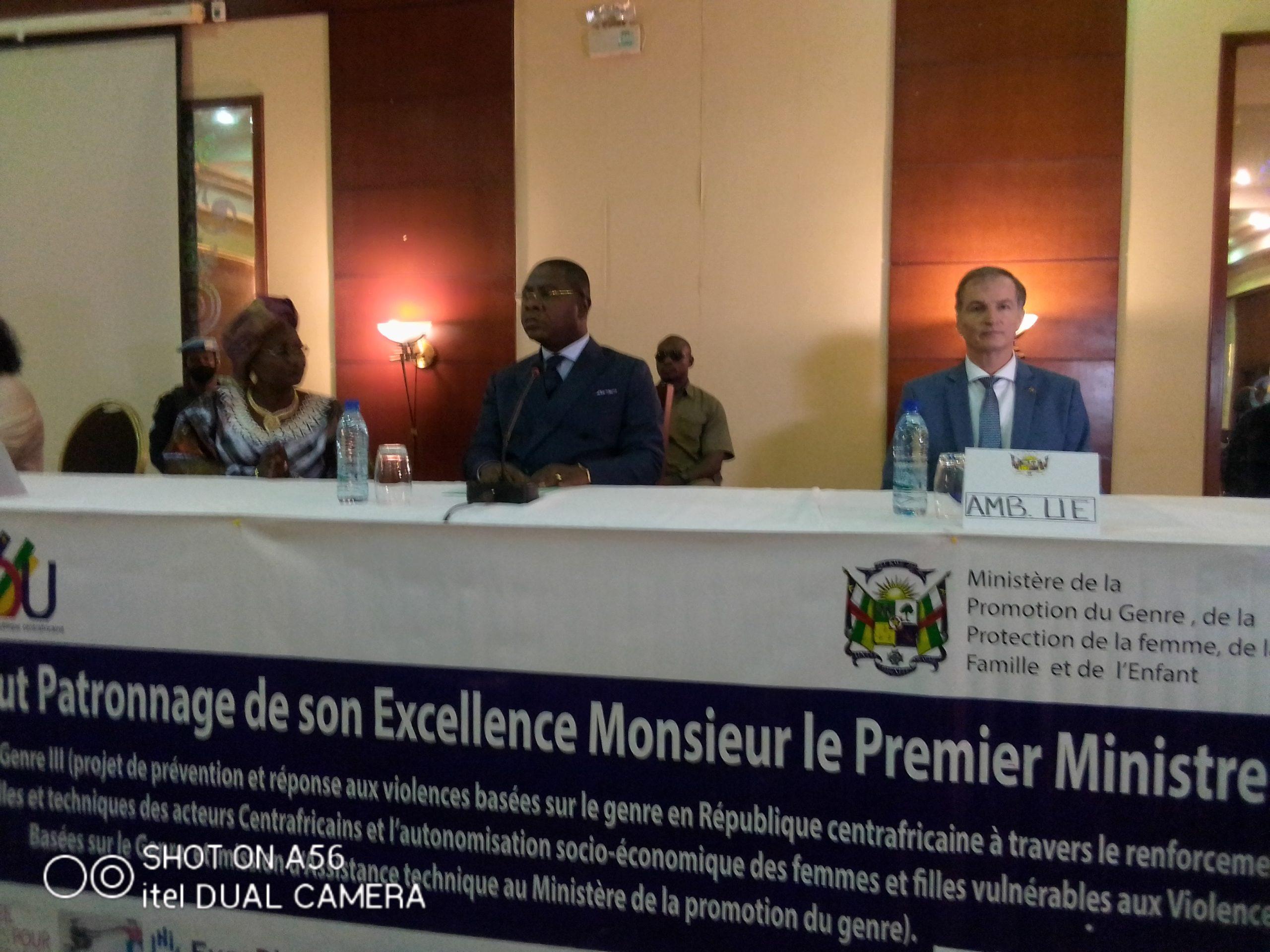 Centrafrique : L'UE soutient le Gouvernement dans la lutte contre les violences basées sur le genre