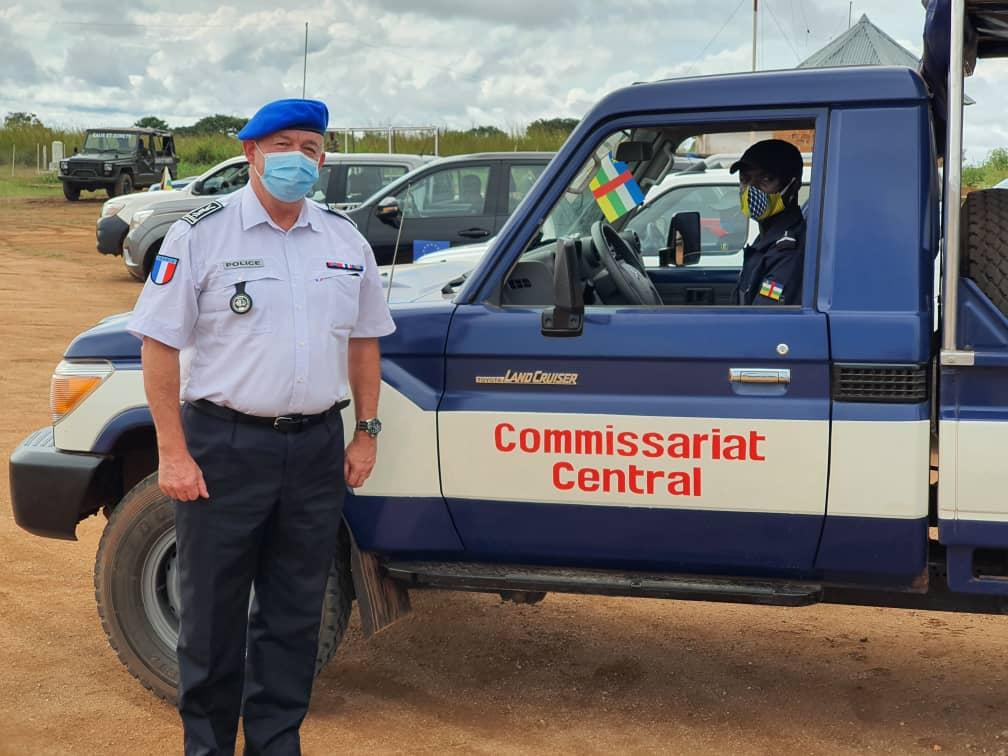 Centrafrique : Des FSI de plus en plus performantes grâce à la mission de professionnalisation de l'EUAM-RCA